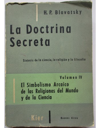 La doctrina secreta Vol IV